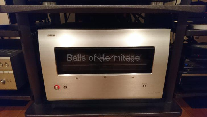 ホームシアター オーディオ DENON POA-A1HD 異常終了 赤色 点滅 電源 ショート Audioquest プラグ バナナ スペード Y型 Yラグ SGBFA GSET/4 交換 レビュー 試聴 構造