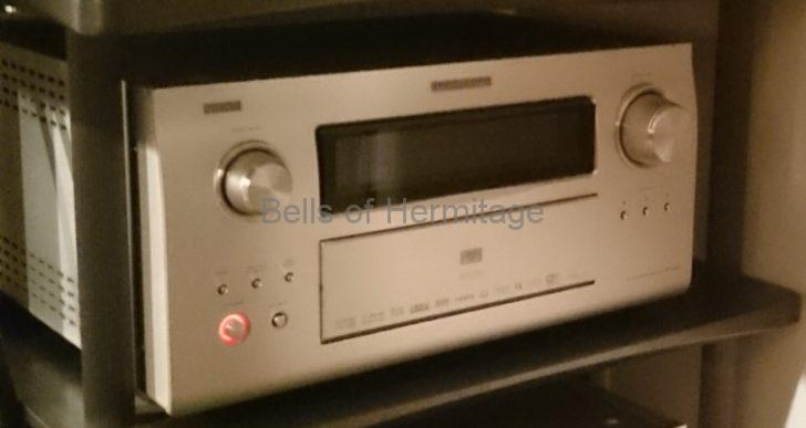 ホームシアター ネットワークオーディオ DLNA DENON AVP-A1HD iPod touch Buffalo Linkstation LS-CH1.5TL ネットワーク スイッチ ハブ LANケーブル PlugPlayer SCEI Playstaiton3 Corega CG-SW08GTLX