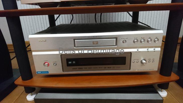 オーディオ ユニバーサルプレーヤー ステレオ専用SACD/CDプレーヤー DENON DVD-A1XVA DCD-SA11 PMA-SA11 Marantz PM-14S1 Sonus faber Chameleon T