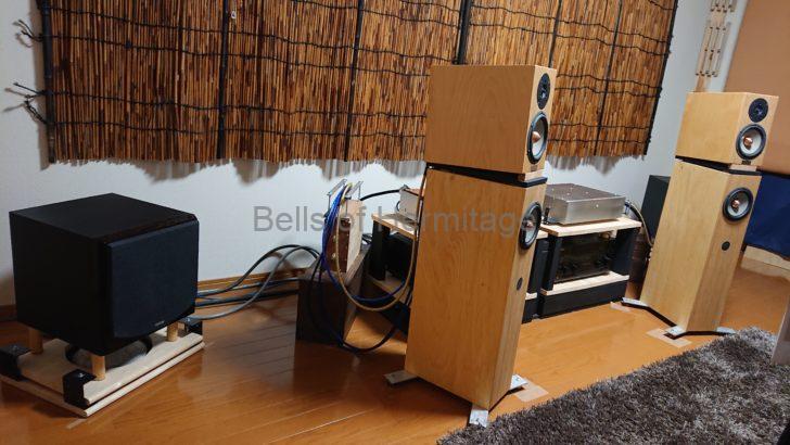 オーディオ かないまる 自作 改造 魔改造 ニアフィールドリスニング PENAUDIO CENYA FOSTEX CW-250A SONY TA-DA5800ES IODATA 挑戦者 RockDiskNext Pioneer N-70A N-07A AudioQuest Vodka Diamond エナメル線 ルームチューニング 定在波対策 仮想アース