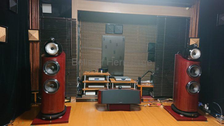 ホームシアター オーディオ オフ会 4K/HDR Panasonic DP-UB9000 Urtra HD Blu-ray 4K Ultra HDソフト 日本テレガートナー M12 GOLD SWITCH WaversaSystems WSmartHub AudioQuest Ethernet Diamond B&W 802D3 803 Diamond HTM2 M-1 YAMAHA NS-90 YST-SW800 Eclipse TD307MK2ABK LINN KLIMAX DSM/2 SOLO/d Marantz AV8805 スペース・オプティマイゼーション 2-stage clock recovery Process ACCUPHASE PX-650 PS-1230 SONY VPL-VW1100ES OPPO UDP-205 DELA N1ZH QNAP HS-251 Roon Nucleus+ YAMAHA 調音パネル ACP-2 KRYNA Azteca QRD Skyline Vicoustic Multifuser DC2 ウェルフロートボード TAD ZZ013-WN フルコンメカ 交換作業 DALI Helicon 800 AIRBOW WFB-1515-4