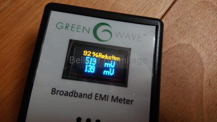 ホームシアター オーディオ 電源 ノイズ 計測 Greenwave Broadband EMI Meter Dirty Electricity Filter 購入手順 レビュー 計測結果 外国から到着した郵便物の税関手続きのお知らせ