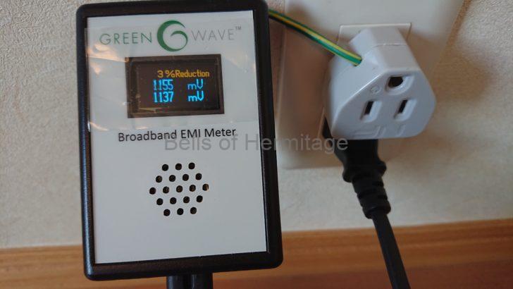 ホームシアター オーディオ 電源 ノイズ 計測 Greenwave Broadband EMI Meter Dirty Electricity Filter 購入手順 レビュー 計測結果 サンワサプライ TAP-AD2N ELECOM KT-180 Panasonic BL-PST152 ENACOM AC-ENACOM PS Audio Noise Harvester AudioPrism Quiet Line MkIII