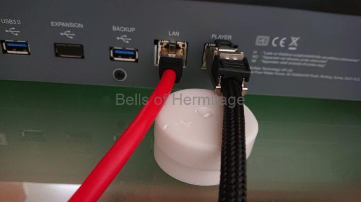 ネットワークオーディオ ACOUSTIC REVIVE LANケーブル R-AL-1 Rock oN Company PC-Triple-C PANDUIT Eau Rouge 3連のコンセントベース&プレート SG-3BP J1 Project JPC2-15 レビュー