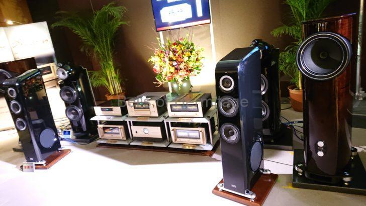 オーディオ イベント 東京インターナショナルオーディオショウ TIAS 2019 4階 アキュフェーズ ラックスマン TAD Evolution One E1TX-K Accuphase E-380 DP-560 DC-37-DG-58 DP750 T-1200 PS-1230 PS-530 FOCAL Stella Utopia EM Evo LUXMAN CL-1000 M-900u D-10X PD-151 ES-1200 ES-35 JPC-15000 JPR-15000 JPS-15000