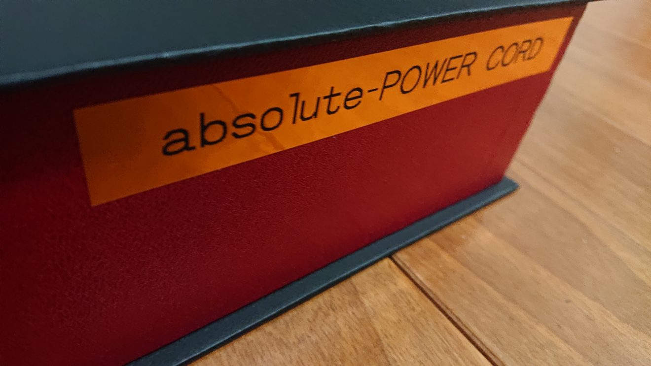 Acoustic Revive absolute-POWER CORDのレンタル~出川式MDユニット搭載電源ケーブル~