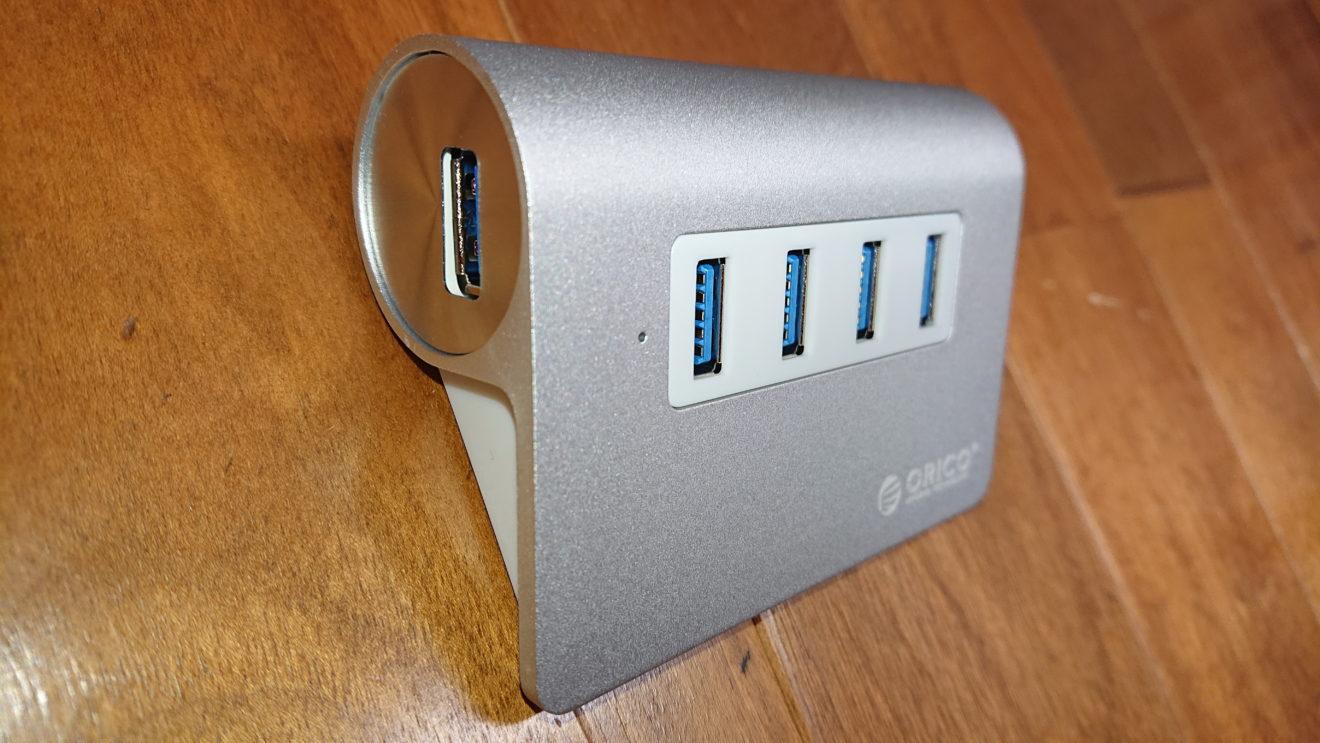 デスクトップPCのUSB端子増設にORICO USB3.0ハブ M3H4-SVの購入~4ポート&OTG機能対応~