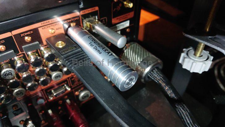 ホームシアター オーディオ ネットワーク 仮想アース Andante Largo The CHORD Company GroundARAY RJ45 BNC USB HDMI RCA XLR LUMN X1 メルコシンクレッツ DELA Maratnz AV8802A Acoustic Revive RLT-1 LANターミネーター