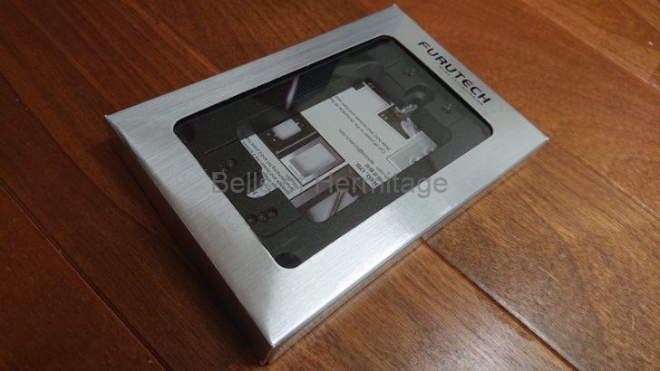 ホームシアター オーディオ 壁コンセント ベース カバー プレート FURUTECH GTX Wall Plate Chikuma 75CP-712 Acoustic Revive CB-1DB