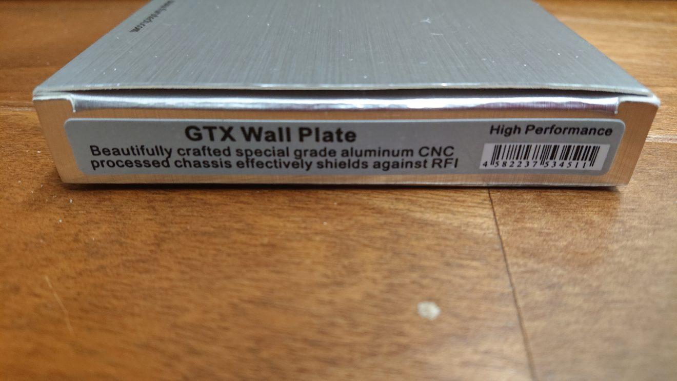 FURUTECH GTX Wall Plateの購入(2)コンセントとカバーと相性