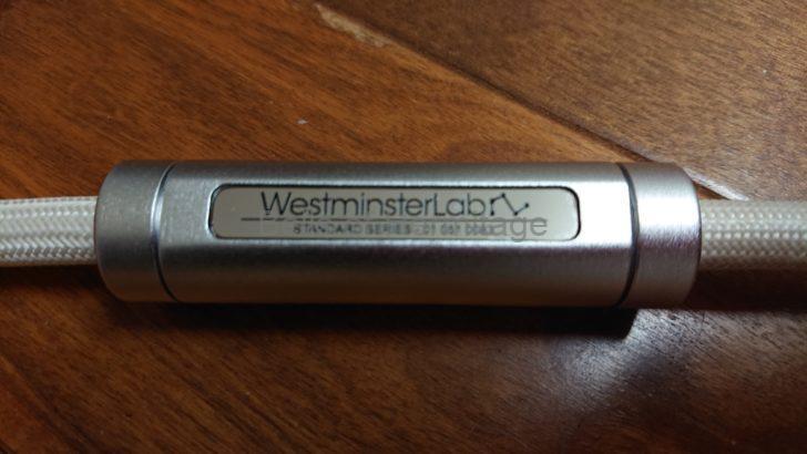 オーディオ WestminsterLab Cables DC Cable 金銀銅合金 Autria Alloy カーボンファイバーシールド 0.6m XLR-ST XLR-UT 1.5m 2m