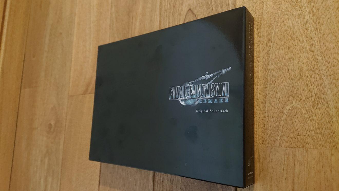 高騰が続くFINAL FANTASY VII REMAKE Original Soundtrack ~Special edit version~(初回生産限定盤)をあきらめて通常盤を購入
