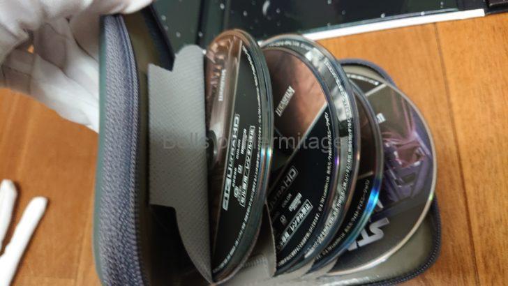 ホームシアター スター・ウォーズ スカイウォーカー・サーガ 4K UHD コンプリートBOX スカイウォーカーの夜明け トリロジー オリジナル プリクエル シークエル アンソロジー 新たなる希望 帝国の逆襲 ジェダイの帰還 ファントム・メナス クローンの攻撃 シスの復讐 サンワサプライ DVDケース 6枚収納×3 ブラック DVD-TN6-03BK FCD-61BKN