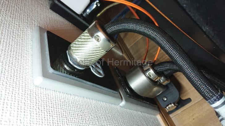 """ホームシアター オーディオ High Fidelity Cables MC-1 Pro Double Helix Plus Signature MC-0.5 Magnetic Wave Guide マグネチックウェイブガイド"""" レビュー"""