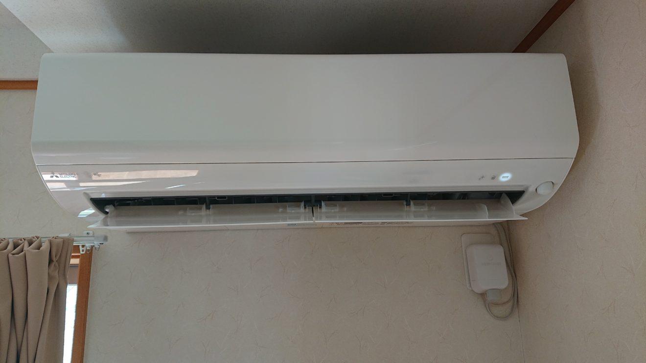 三菱電機 霧ヶ峰 MSZ-BKR2220-W/MUCZ-R2220購入~設置完了~