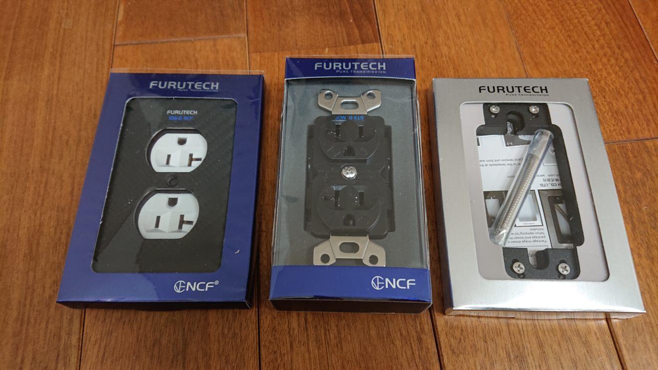 オーディオ電源工事の計画(5)200Vコンセント用にFURUTECH GTX Wall Plateを調達