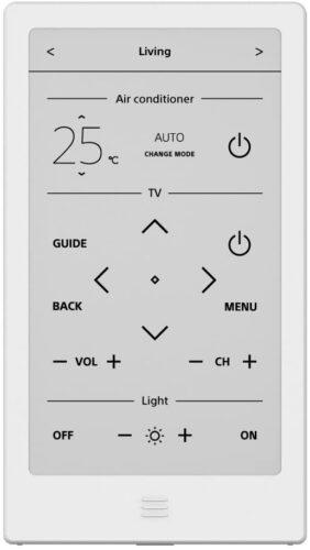 ホームシアター オーディオ リモコン 学習リモコン SONY HUIS REMOTE CONTROLLER 電子ペーパー UI CLEATER かんたん設定 自動レイアウトアルゴリズム 購入 レビュー