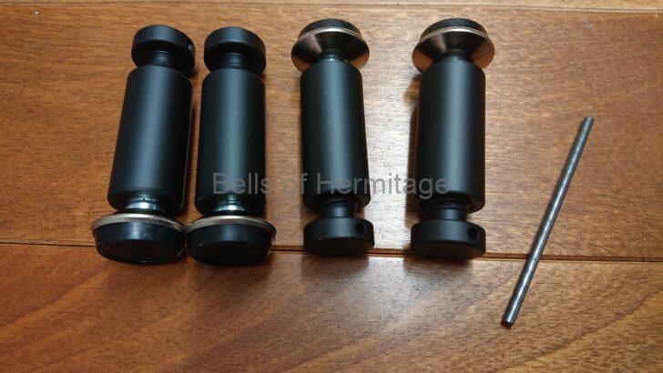 オーディオルーム 執筆環境 Marantz PM-14S1 DENON PMA-SX1 LUMIN X1 Black YAMAHA GT-1000 QUADRASPIRE QAVM Q4D セパレート ラックレイアウト 19mm径ポール 100mm 140mm 180mm 216mm 256mm 326mm